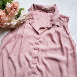 Heart Hips sleeveless blouse O